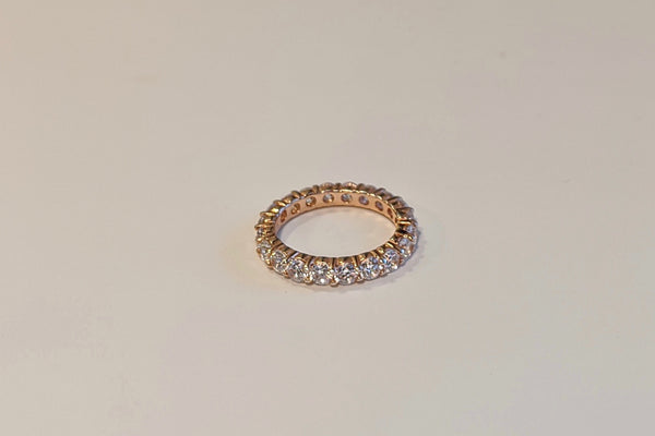 Round Eternity Band .10