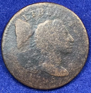 1795, Liberty Cap large cent, G