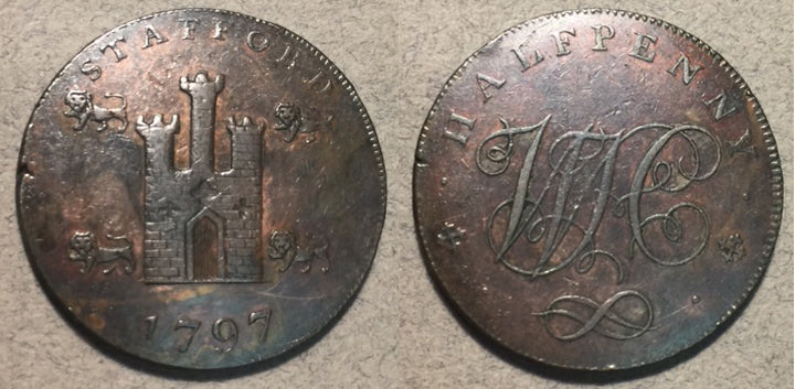 1797 Conder Token Stafford? VF