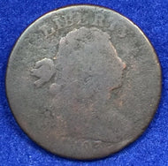 1803 Draped Bust Large Cent AG+