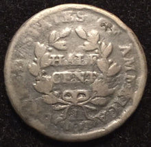 1804 Draped Bust Half Cent - G rim dings and bruises
