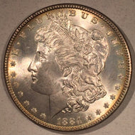 1884 Morgan Dollar, MS64