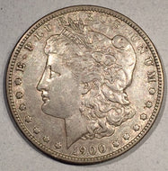 1900 O/CC Morgan Dollar, XF, VAM 12 Top 100 varieties