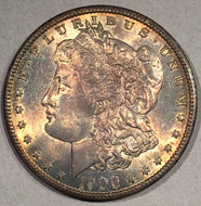 1900 O Morgan Dollar, MS64