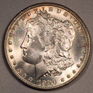 1900 O Morgan Dollar, MS65