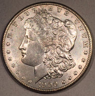 1900 S Morgan Dollar, AU