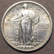1917 Type 1 Standing Quarter, AU dipped