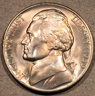 1939-D Jefferson Nickel, Grade= MS65
