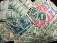 New Mint US Stamps at or below face value .01 Cent singles. 400 stamps