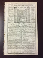 The Gentleman's Magazine July 1775