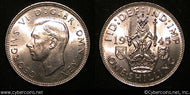 Great Britain, 1945, 1 shilling, KM854, UNC