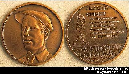 Golf Hall of Fame - Francis Ouimet .......