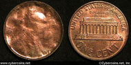 NO DATE Lincoln Memorial Cent, Grade= UNC