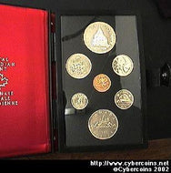 1976, Double Dollar Prestige Set Sp...