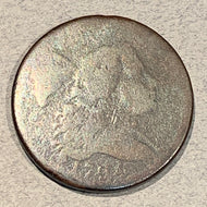 1794 Large Cent Liberty Cap, G/AG head of 94, minor scratch on rev