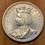 1893 Isabella Commemorative Quarter, MS60