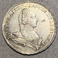 France, 1770, 1 1/4 Ecu D'or, Kingdom Medallic coinage
