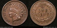 1895 Indian Cent, Grade= XF