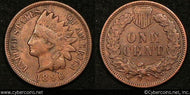 1896 Indian Cent, Grade= XF