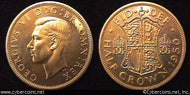Great Britain, 1950, Proof, KM879 - 1/2 crown