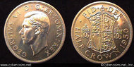 Great Britain, 1950, 1/2 crown,   Proof, KM879