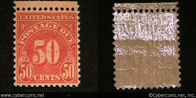 US #J76 Postage Due 50 Cent - Mint - NH