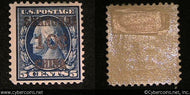 US #K05 Offices in China 10 Cent Overprint