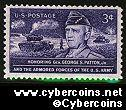 Scott 1026 mint  3c - Honoring Gen. George S. Patton Jr.