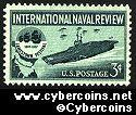Scott 1091 mint sheet 3c (50) -  International Naval Review