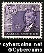 Scott 1105 mint sheet 3c (70) -  James Monroe