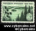 Scott 1106 mint  3c -  Minnesota Statehood