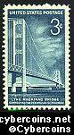 Scott 1109 mint sheet 3c (50) -  Mackinac Bridge