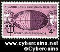 Scott 1112 mint sheet 4c (50) -  Atlantic Cable Centenary