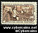 Scott 1115 mint sheet 4c (50) -  Lincoln-Douglas Debates