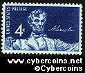 Scott 1116 mint  4c -  Statue of Lincoln (1959)