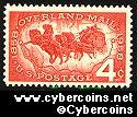 Scott 1120 mint sheet 4c (50) -  Overland Mail