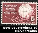 Scott 1129 mint  8c -  World Peace Through World Trade