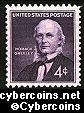 Scott 1177 mint sheet 4c (70) -  Horace Greeley