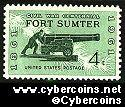 Scott 1178 mint  4c -  Fort Sumter