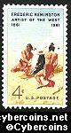 Scott 1187 mint  4c -  Frederic Remington