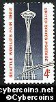 Scott 1196 mint sheet 4c (50) -  Seattle World's Fair