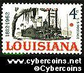 Scott 1197 mint sheet 4c (50) -  Louisiana Statehood