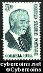 Scott 1235 mint  5c -  Cordell Hull