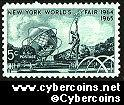 Scott 1244 mint sheet 5c (50) -  NY World's Fair