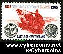 Scott 1261 mint sheet 5c (50) -   Battle of New Orleans