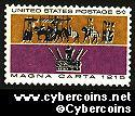Scott 1265 mint sheet 5c (50) -   Magna Carta