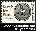Scott 1326 mint sheet 5c (50) -   Search for Peace