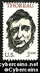 Scott 1327 mint  5c -   Henry D. Thoreau