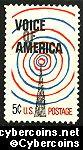 Scott 1329 mint sheet 5c (50) -   Voice of America