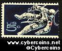 Scott 1331 mint  5c -   Space - Astronaut